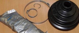 замена пыльника шруса ваз 2109