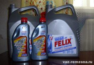 как промыть систему охлаждения двигателя ваз 2109