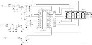 микроконтроллерный тахометр своими руками