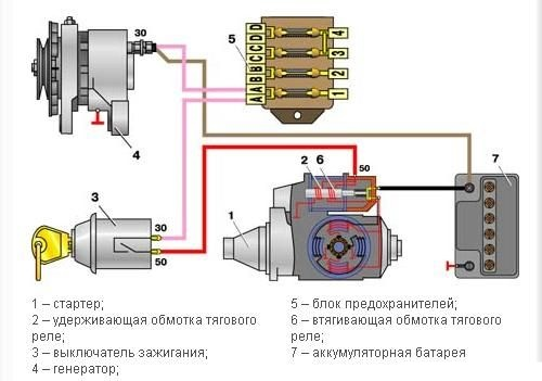 принципиальная схема соединений