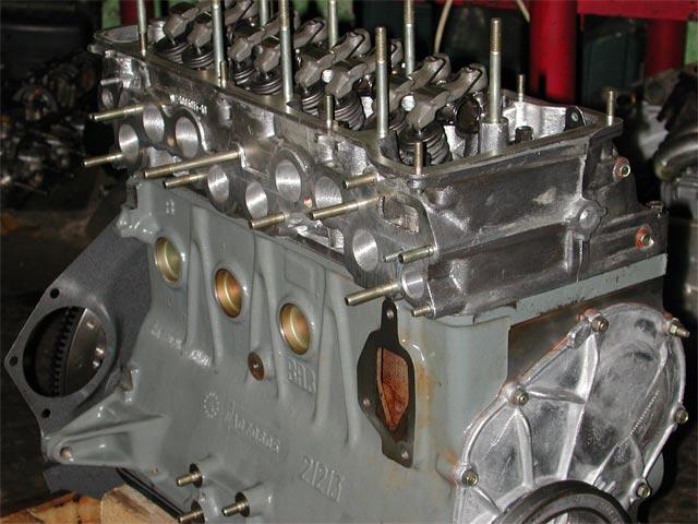 как собрать двигатель ваз 2101