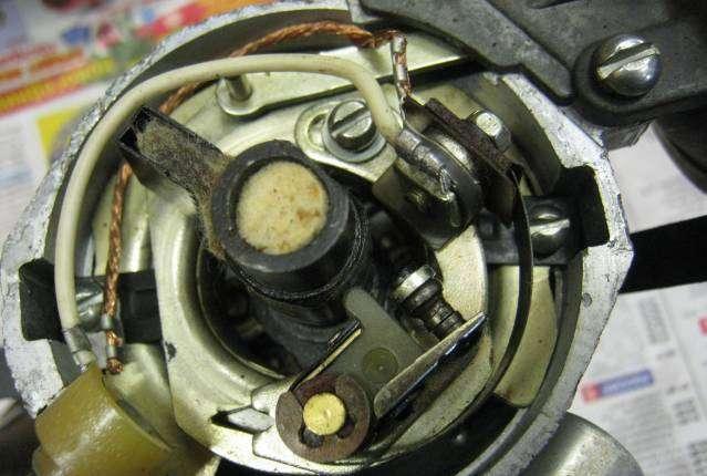 прерыватель контактный ваз 2101-2107
