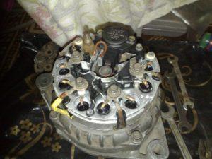 напряжение генератора ваз 2110