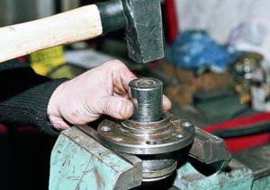замена переднего подшипника ступицы ваз 2110