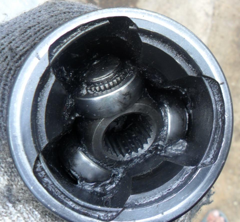 замена шруса без снятия привода ваз 2109