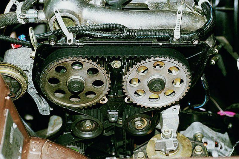 замена ремня грм ВАЗ 2110 16 клапанов