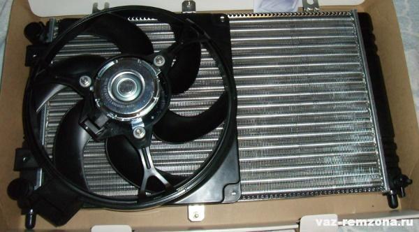 Как поставить вентилятор на ваз 2109