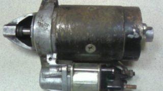 начало ремонта стартера ваз 2109