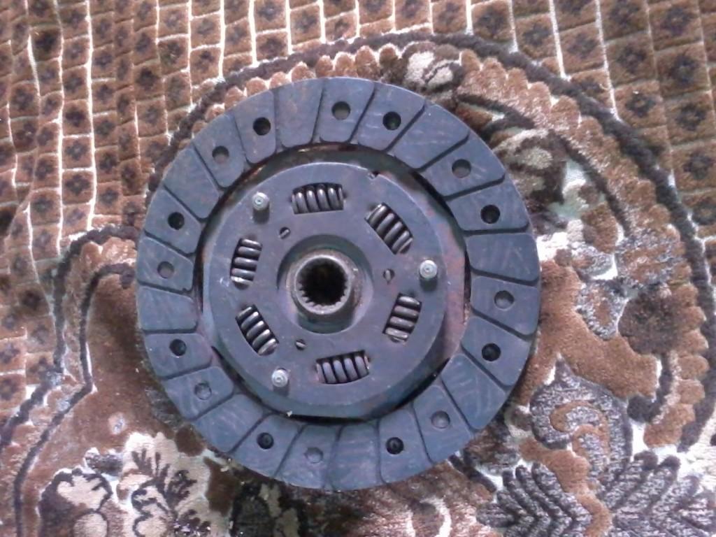 ведомый диск сцепления ваз 2109
