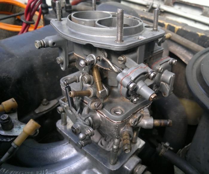 ремкомплект карбюратора ваз 2101