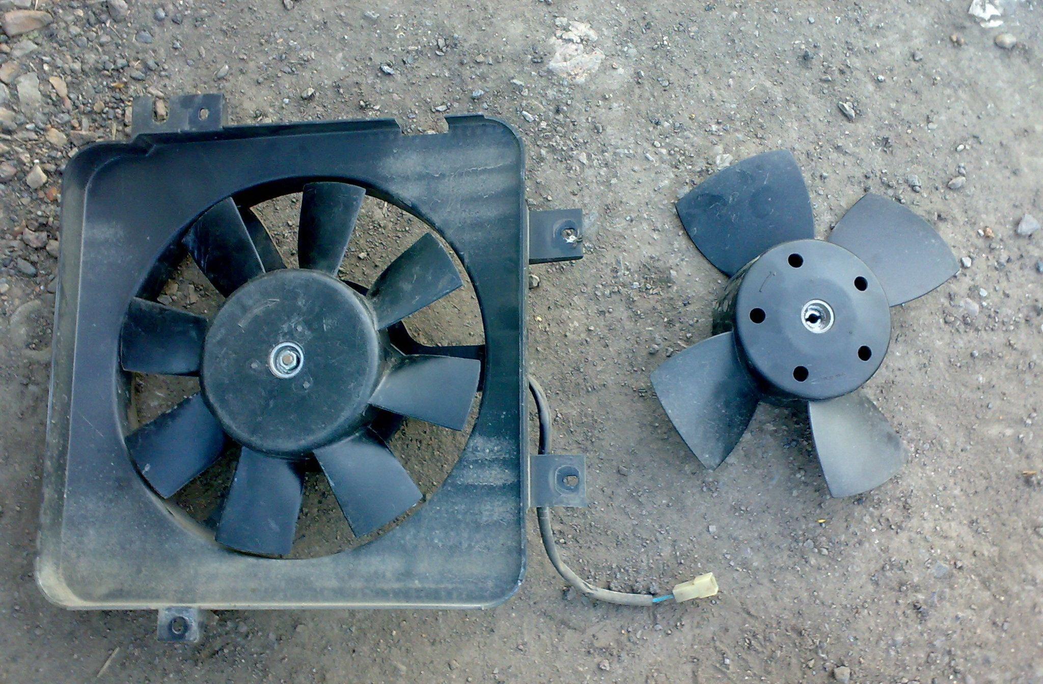 принудительное включение вентилятора ваз 2107