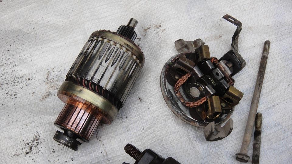 Ваз 2106 стартер крутит двигатель нет