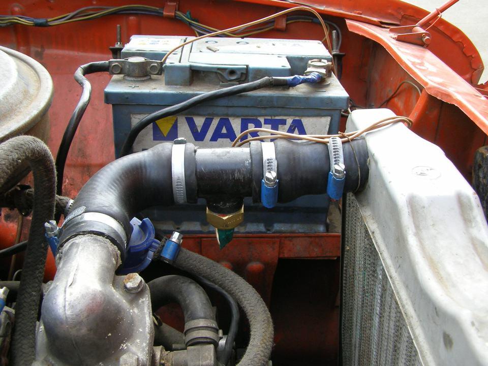 система охлаждения ваз 2107 инжектор