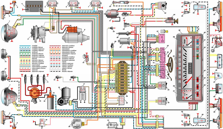 Схема и распиновка электроусилителя руля Лада Калина  ЭУР
