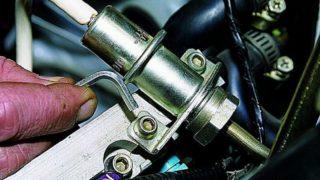 Датчик давления топлива ВАЗ 2114