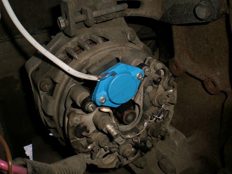 установка трехуровневого регулятора напряжения ВАЗ 2114
