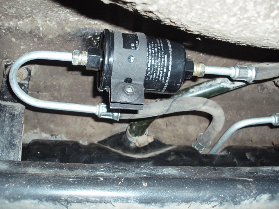 замена топливного фильтра ваз 2109 инжектор